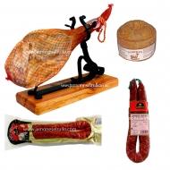 ENVÍO GRATIS, Jamón 7 Kg, Queso, Longaniza con trufa y Chorizo. L1