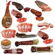 ENVÍO GRATIS, Paletilla, Jamón, Queso, 2Longaniza, Cecina, Chorizo, Salchichón, 2Lomo, 2Cabezada, Bacon, 2Jamón fileteados. L4