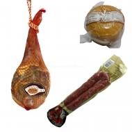 ENVÍO GRATIS, Paletilla, Longaniza y Queso Tipo Tronchón. L14