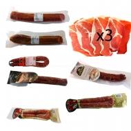 ENVÍO GRATIS, 3 Fileteado Jamón, 2 Salchichón, 3 Chorizo, 2 Longaniza,