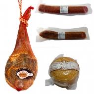 ENVÍO GRATIS, Paletilla, Queso, Salchichón y Chorizo .L5-Rullo-www.jamoneselrullo.com