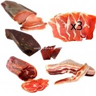 ENVÍO GRATIS, Jamón Fileteado, Lomo, Cabezada, Bacon y Cecina.L6-Rullo-www.jamoneselrullo.com